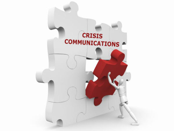 AS - puzzle with the word crisis communication
