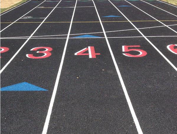 AS- 100 meters relay field